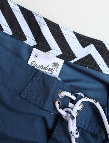 BORDIES BS121 Nylon Shorts Long NAVY (2)