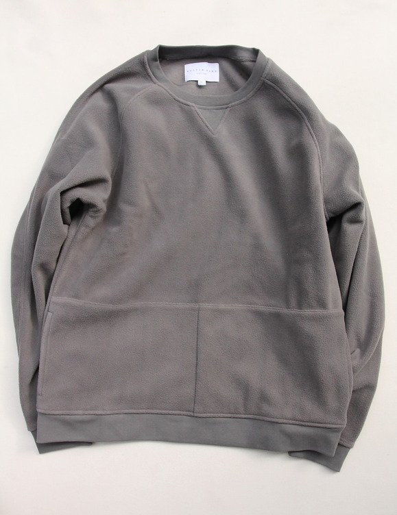 KESTIN HARE Hayamarket Sweat HEATHER GREY