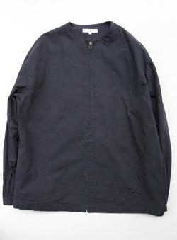 RICE MAN Zip Up Shirt NAVY