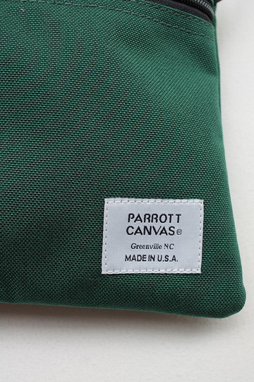 Parrott Canvas ND Organizer W Strap GREEN (2)