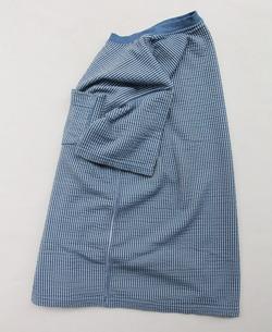 Goodon SS Seersucker Pocket Tee SMOKY BLUE (3)