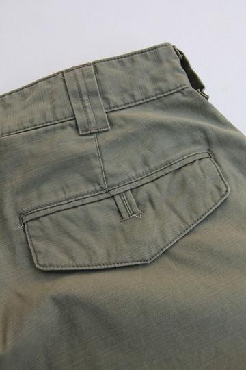 Le Ciel de Harriss Back Satin Loose Fit Pants OLIVE (3)
