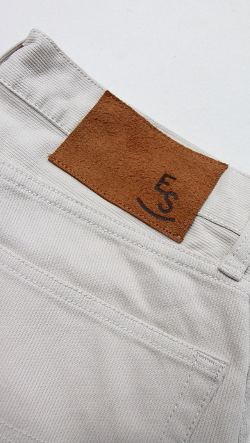 Empire & Sons 5Pocket Straight Taperd Pique Pants SAND BEIGE (6)