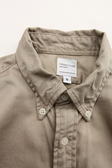 Nepenthes New York Twill BD KHAKI (3)