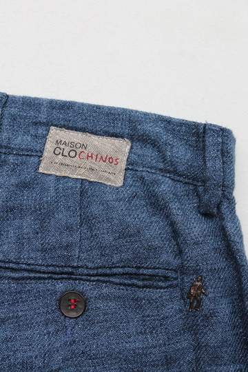 Maison Clocherd Mallard Shorts NAVY (3)