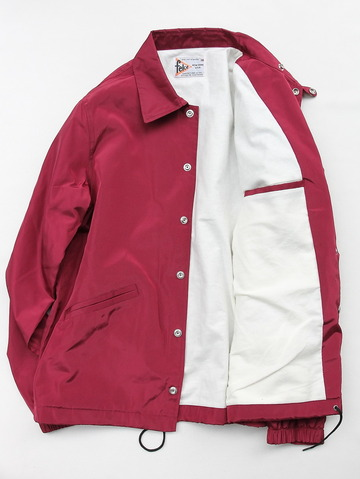 Felco Nylon Coach Jacket BURGUNDY (5)