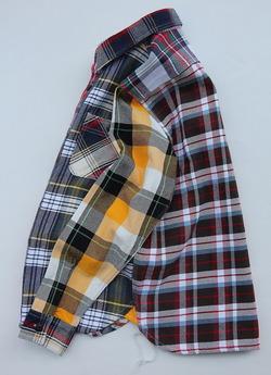 Huston Heavy Viyella Work Shirt Crazy  pattern (2)