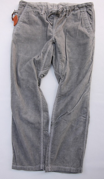 Sunlight Believer Ribress Corduroy Wide Pants GREY (6)