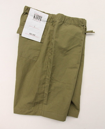 KIFFE Relax Shorts OLIVE (4)