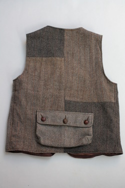 Keaton Chase Remake Harris Tweed Hunting Vest (11)