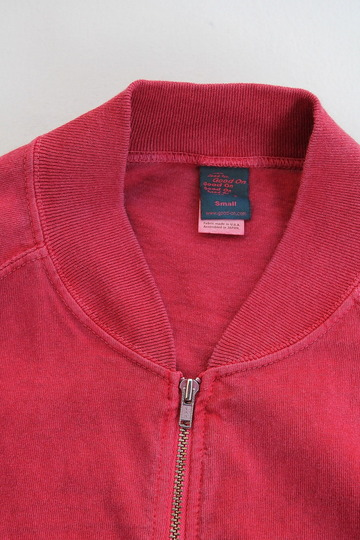 Goodon Zip Tee Jkt P F RED (3)