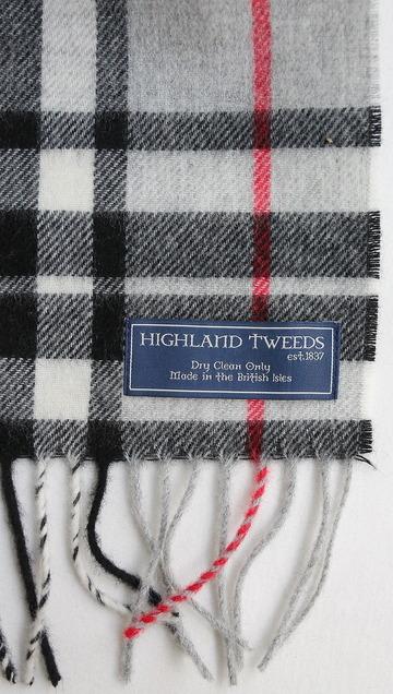 Highland Tweeds Lambswool W With GREY THOMPSON (3)