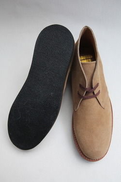 Laborer Shoes Postman Chukka BEIGE Suede (6)
