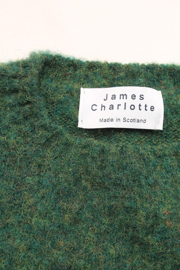 James Charlotte Shaggy Dog Crew Neck FERN (2)
