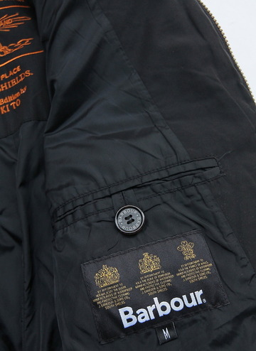 Barbour Beacon Heritage Collection Riders BLACK (4)