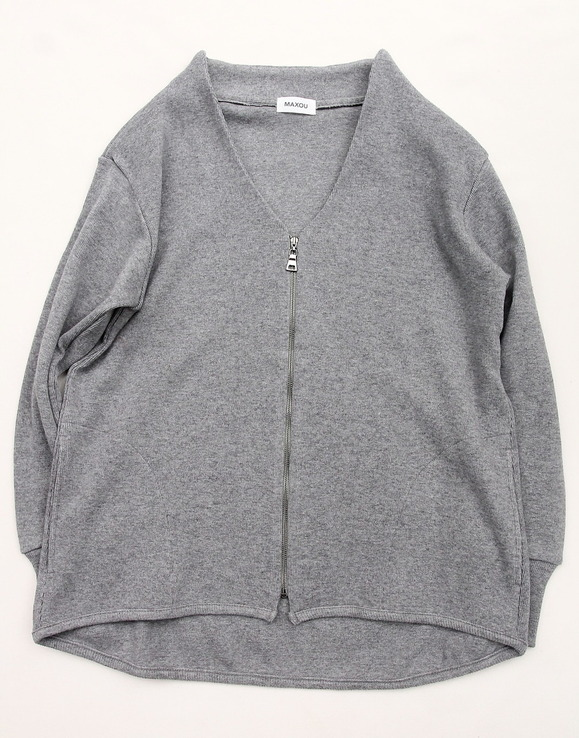 MAXOU CW Zip Cardigan GREY