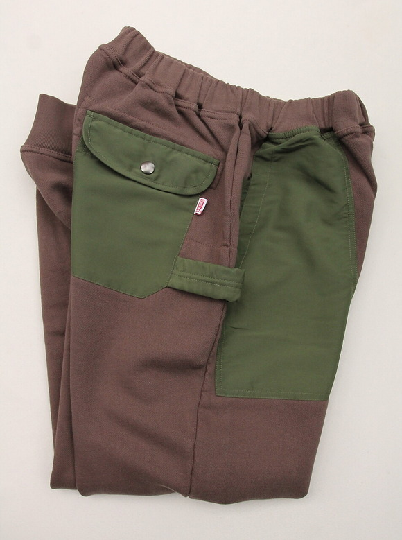 Chums Utility Pocket Pants Sweat KHAKI