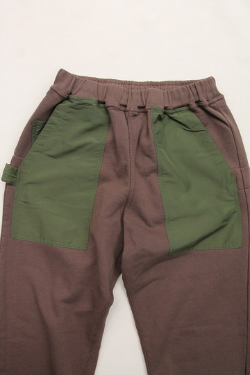 Chums Utility Pocket Pants Sweat KHAKI (2)