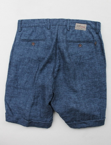 Maison Clocherd Mallard Shorts NAVY (5)