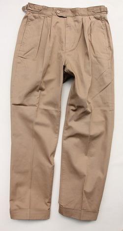 KIFFE Belt Less Pants KHAKI (5)