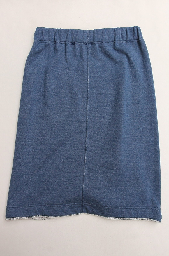 Harriss Grace French Terry Lounge Skirt DENIM (4)