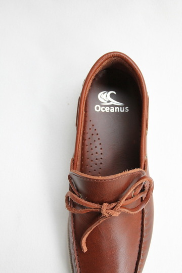OCEANUS Leather Washed Shoes CAGNAK (7)