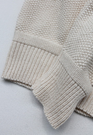 Fall River Knitting Mills Crew Neck Sweater NATURAL (4)
