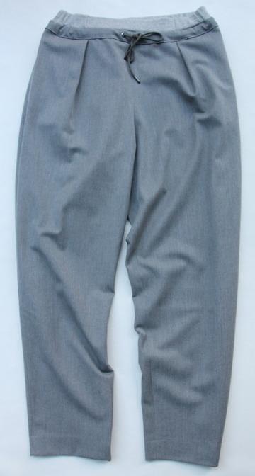 Le Ciel de Harriss T Rayon Tuck Easy Pants GREY (5)