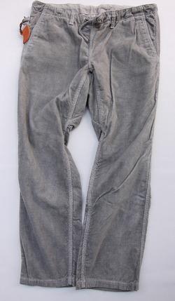 Sunlight Believer Ribress Corduroy Wide Pants GREY (6)