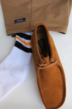 STRIP Crew Socks 9-11 BLACK & GOLD