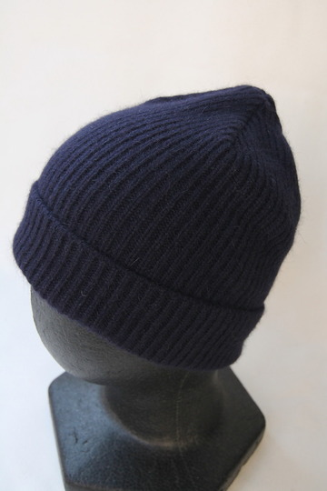 Robert Mackie Barra Rib Hat NAVY