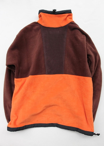 coochucamp Happy Pullover Fleece BROWN ORANGE (5)