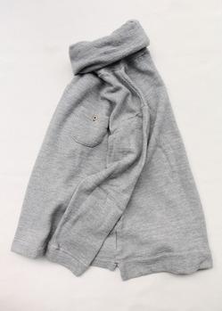 MAXOU Cotton Wool Pique Turtle GREY (5)