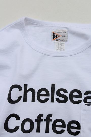 Felco SS Crew Print Tee Chelsea WHITE (2)