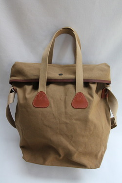 Quality Gunslips Top Flap Tote BEIGE