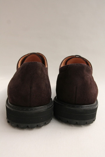Crown Northampton Apron Shoes DK BROWN (8)