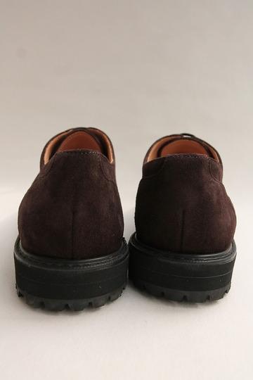 Crown Northampton Apron Shoes DK BROWN (8)