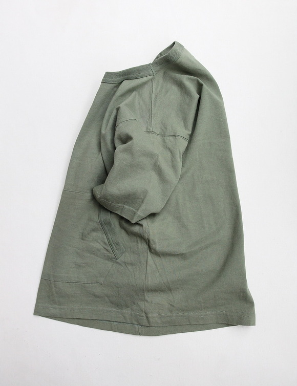 The Boulder Mountaineer Pocket Tee OLIVE (4)
