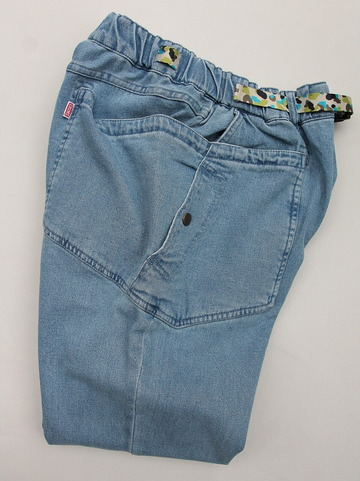 Chums Stretch  Camping Denim Pants  LIGHT INDIGO