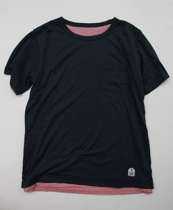 FIDELITY Riversible Tee NAVY (4)