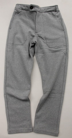 Arbre HW Cotton Sweat Easy Pants GREY (5)