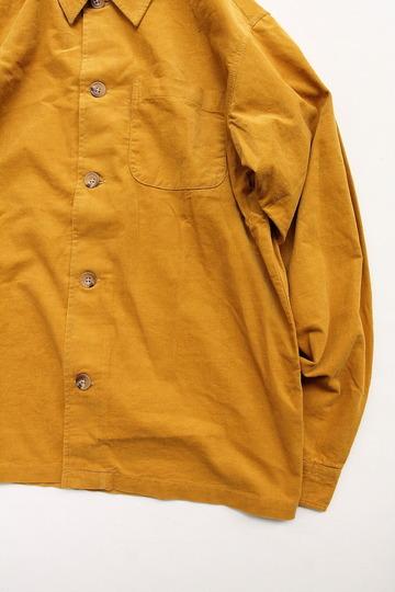 Vincent et Mireille Corduroy Shirt BLSN MUSTARD (3)