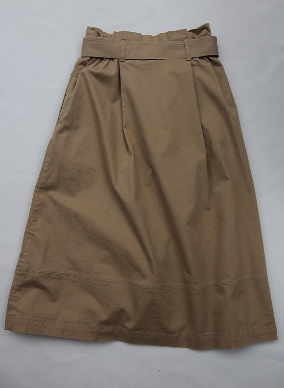 Le Ciel de Harriss Burshed Twill  Skirt TAN (2)