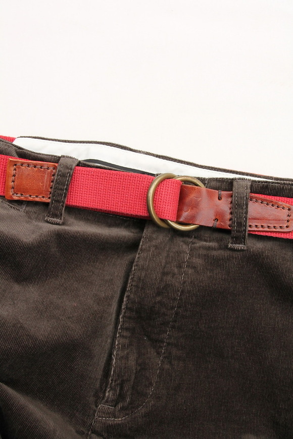 Halcyon 03 Canvas & Leather RED