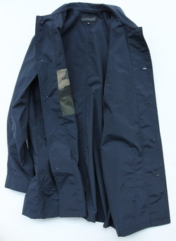 coochucamp Happy Shirt Coat NAVY (4)