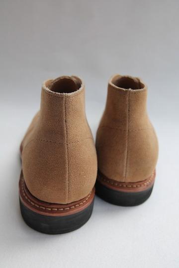 Laborer Shoes Postman Chukka BEIGE Suede (8)