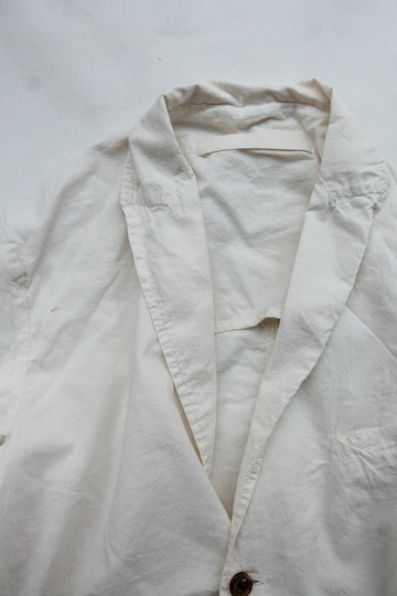 Vasy Lettlement Side Vents Tailored Jacket NATURAL (3)