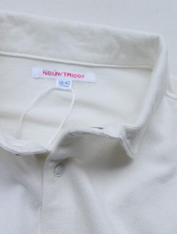 NOUN LS Polo WHITE (4)