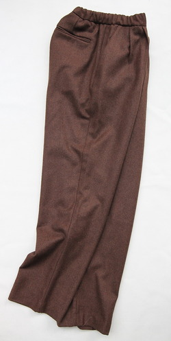 CEASTERS 2Pleats Easy Trousers BROWN  by Burel (6)