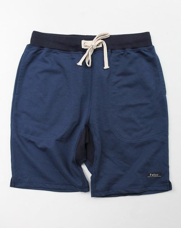 Felco Gym Shorts Mini French Terry NAVY (2)